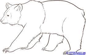 coloring drawing bear drawing panda bear u201a