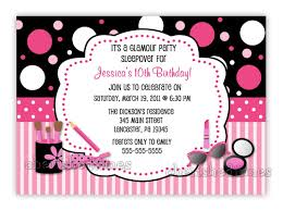 10 year old birthday party invitation wording birthday party