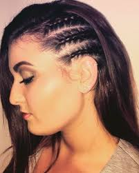 hairstyles that look flatter on sides of head i love my hair like this when i head out of the country or to the