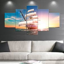 boat sail paintings wall art giclee canvas prints landscape