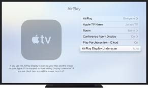 about overscan and underscan on your mac apple tv or other