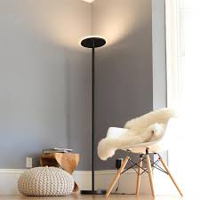 tenergy 70 u201d torchiere dimmable led floor lamp upright 30w