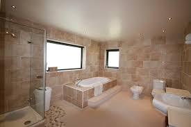 Bathroom With Beige Tiles What Color Walls Photo Of Beige Brown White Bathroom Ensuite Ensuite Bathroom