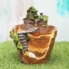 online get cheap resin planters aliexpress com alibaba group 4 styles mini resin succulent planter flower pot plants succulent bonsai nursery pots vase home garden