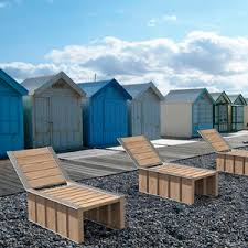 metal deck chair all architecture and design manufacturers