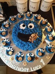 27 best cookie monster 1st birthday images on pinterest cake