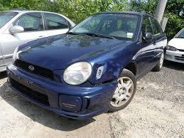subaru sti 02 2002 subaru impreza 2 5 ts wagon quality used oem replacement