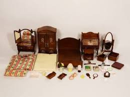 SYLVANIAN FAMILIES LUXURY MASTER BEDROOM FURNITURE SET EBay - Sylvanian families luxury living room set