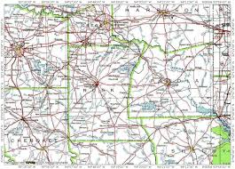 Tx County Map Rusk County Texas Map Of 7 Of 8
