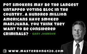 Gary Johnson Memes - gary johnson marijuana quote masterbong
