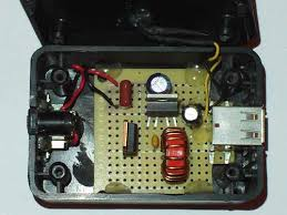 Usb Charger With Switching Regulator