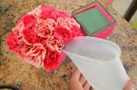 Simple Vase Centerpieces Crepe Paper Flower Vase Centerpiece Idea Hello Nutritarian