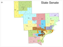 State Of Michigan Map by Republicans Release Map Of Proposed Redistricting Of Michigan