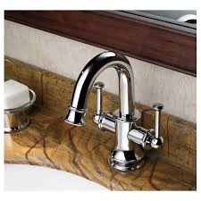 single hole sink faucet chrome finish two handles single hole mount mixer taps bathroom sink