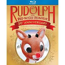rudolph red nosed reindeer 50th anniversary blu ray target