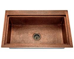 Stainless Steel Sinks And Faucets For Kitchens And Baths - Copper sink kitchen
