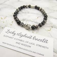 lucky beads bracelet images Lucky elephant bracelet by luna emporium jpg