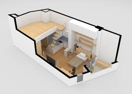Studio Apartment 3d Floor Plans Studio Apartment Model