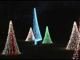 christmas lights wichita ks evening at the wichita kansas botanical gardens youtube