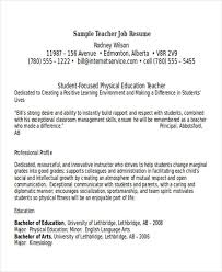 examples of teaching resumes resume examples and free resume
