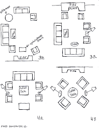 furniture layouts best furniture layout for awkward living room 25926