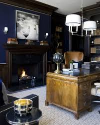 Masculine Home Decor 33 Stylish And Dramatic Masculine Home Office Design Ideas Digsdigs