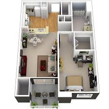 home design 3d 2014 3d small house plans under 1000 sq ft with loft and one bedroom