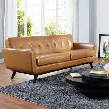 modern sofas empire tan leather sofa eurway modern