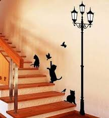 Ideas To Decorate Staircase Wall 20 Beautiful Diy Interior Decorating Ideas Using Stencils And