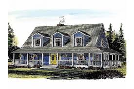 farmhouse with wrap around porch farmhouse with welcoming wraparound porch hwbdo14501 farmhouse