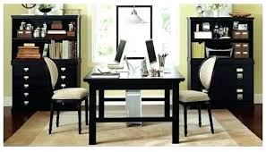 Home Office With Two Desks Desk Home Office Home Office Desk Green By Via