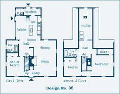 Saltbox House Floor Plans Colonial