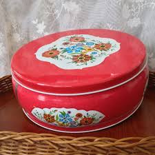 where to buy cookie tins vintage cookie tin large mid century style decor