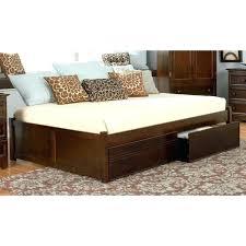daybed wood frame serene single oak wooden day bed frame by serene