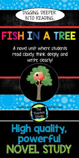 9 best novel study images on pinterest fish in a tree read