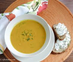 thanksgiving soups recipes carrot and sweet pepper soup meatlessmondays the infinebalance