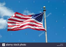 Florida Flag History Stars And Stripes American Flag Orlando Florida Usa Stock Photo