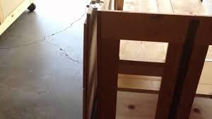 fold up table hinges folding table 270 deg hinge fix youtube