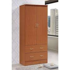Tv Armoire With Doors And Drawers Armoires U0026 Wardrobes Bedroom Furniture The Home Depot