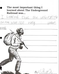 Underground Railroad Map Artifact Alley