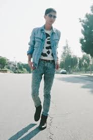Light Blue Jacket Mens Men U0027s Sky Blue H U0026m Jackets Light Blue Acid Washed Levis Jeans