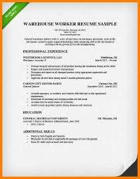 Warehouse Packer Resume 10 Warehouse Technician Resume Resume Warehouse Resume Make
