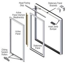 Patio Door Weatherstripping 200 Series Perma Shield Patio Door Parts U0026 Accessories