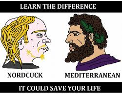 Meme Mediterranean - learn the difference nordcuck mediterranean it could save your life