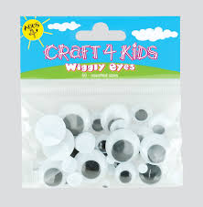 4 kids wiggly eyes sold as a pack of 12