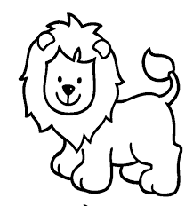 simple animal coloring pages getcoloringpages