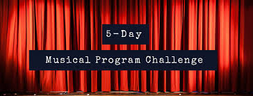 Challenge Do You Tie 5 Day Musical Program Challenge Mrs Miracle S Room