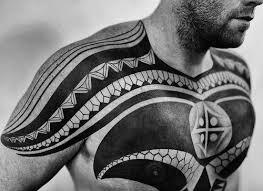 tribal tattoo front best tattoo design ideas