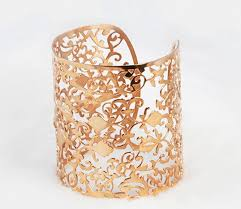 gold vintage bracelet images Vintage bracelets women vintage style bracelets 18k rose gold cuff jpg