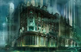 art deco city concept by jubjubjedi on deviantart